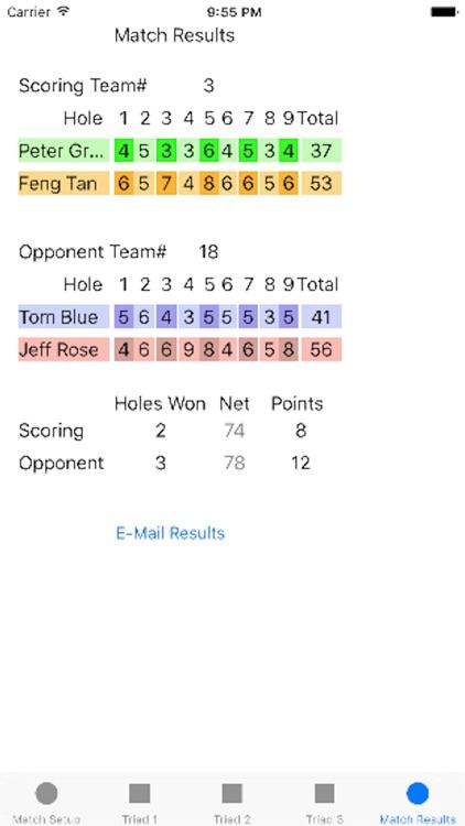 Four Ball League Scoring screenshot-4