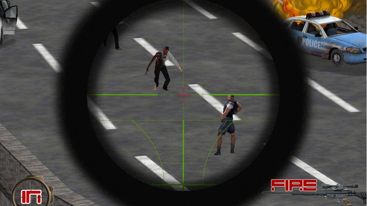 A Zombie Sniper - Highway War Free screenshot-4