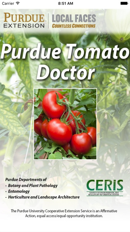 Purdue Tomato Doctor screenshot-0