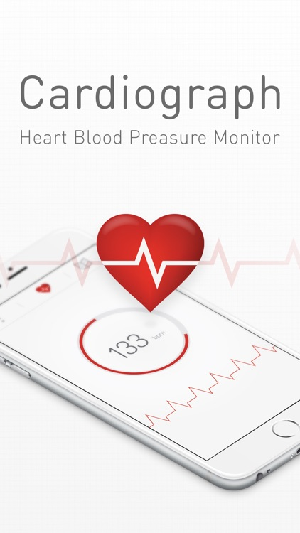 Cardiograph Heart Rate Monitor screenshot-0