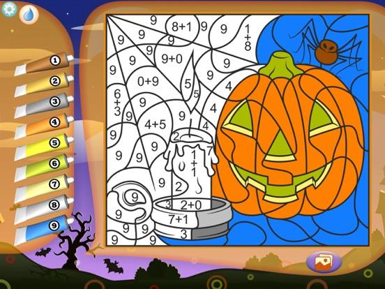Раскраска Хэллоуин + для iPad