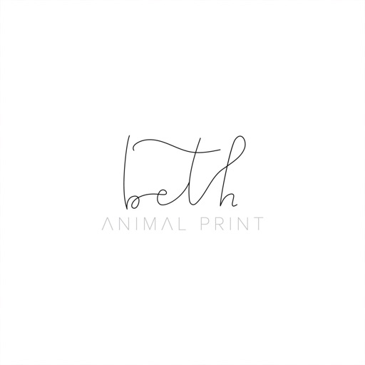 Beth Animal Print