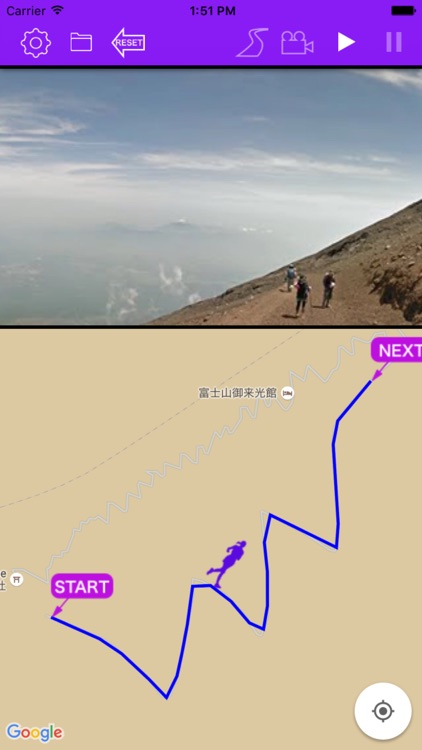 Course Preview App - picturization of running scene screenshot-3