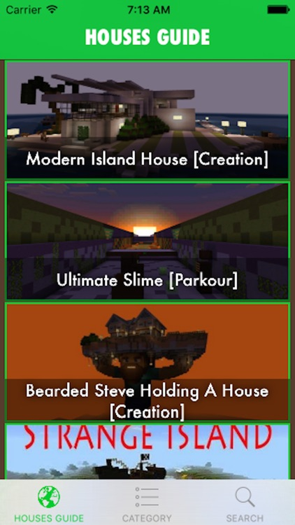 Building Guide for Minecraft - Houses for Minecraft PE MineMaps screenshot-4