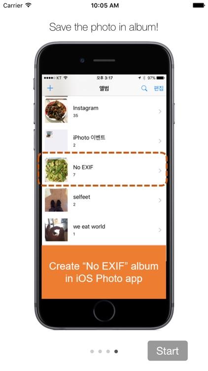 No EXIF - Photos Privacy by Removing Metadata screenshot-3