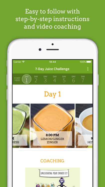 Jason Vale's 7-Day Juice Challenge (7lbs in 7 Days) app image