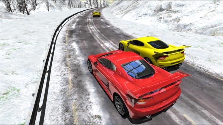 Sports Cars Racing Winter PRO screenshot-4