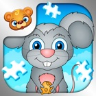 123 Kids Fun PUZZLE BLUE Free - Top Educational Slide Puzzle Games for Toddlers and Preschoolers icon