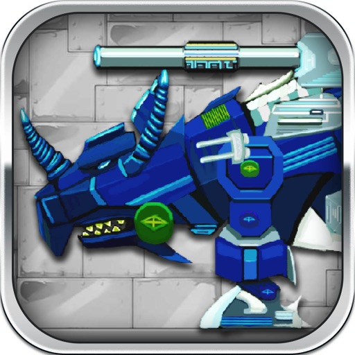 Triceratops: Robot Dino, Trivia & Puzzle Game for Free