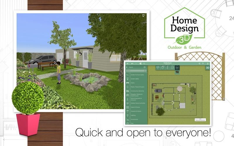 Home Design 3D Outdoor&Garden screenshot 2