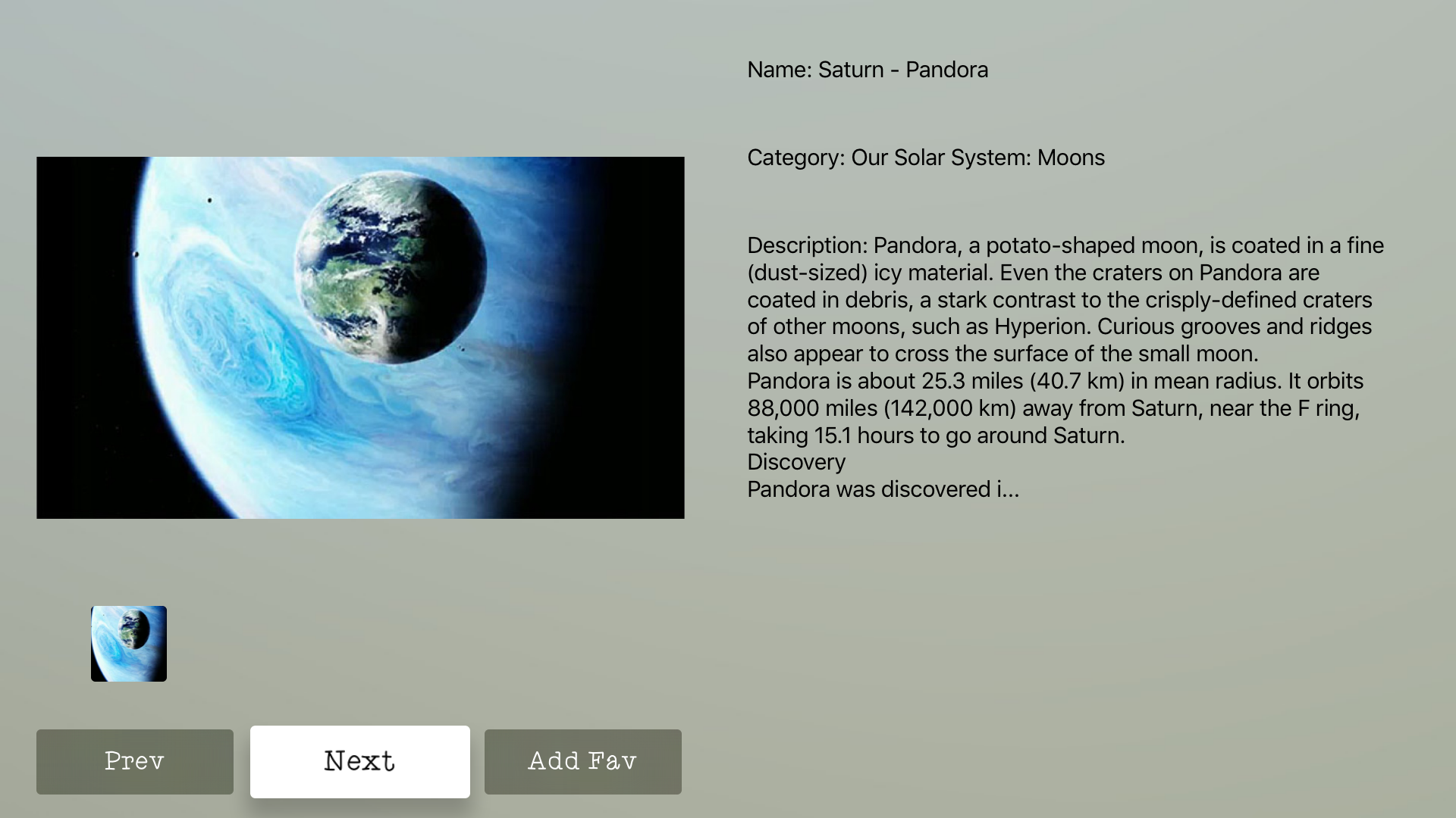 Solar System Info + screenshot 13
