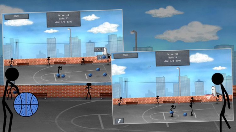 Stickman Street Basketball