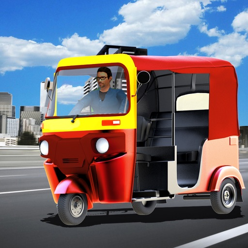 City Tuk Tuk Rickshaw : free simulation game