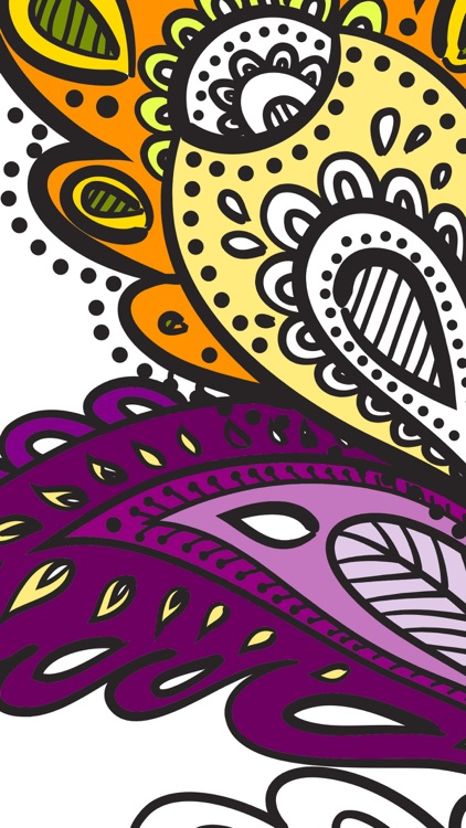 Paint & color mandalas Coloring book for adults