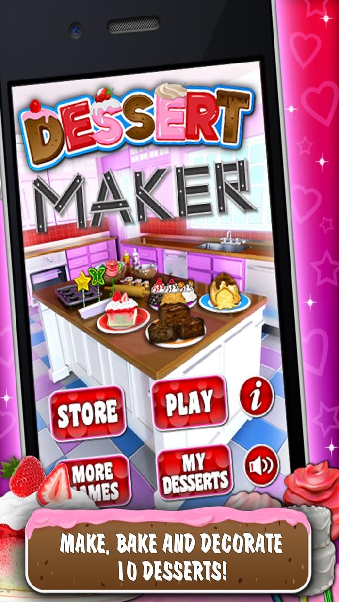Sweet Dessert Maker Games Screenshot
