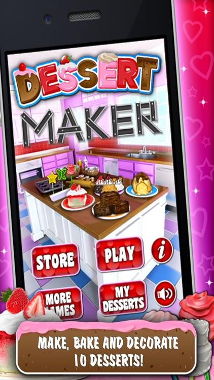 Sweet Dessert Maker Games screenshot-0