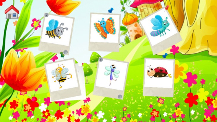 Insects Coloring Book - Drawing and Painting Colorful for kids games free screenshot-4