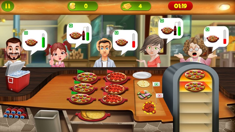 Cooking Kitchen Food Super-Star - master chef restaurant carnival fever games screenshot-3