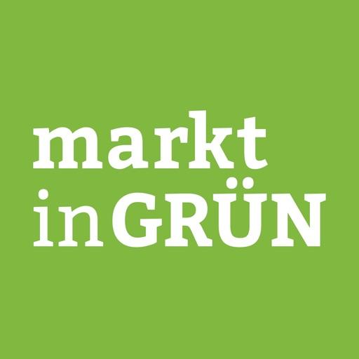 markt in gruen