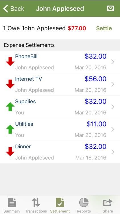 $hare - split & share expense screenshot-4