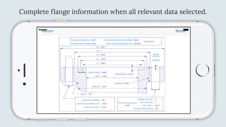 Flange Data screenshot-3