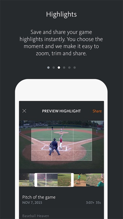 HiCast Sports app image