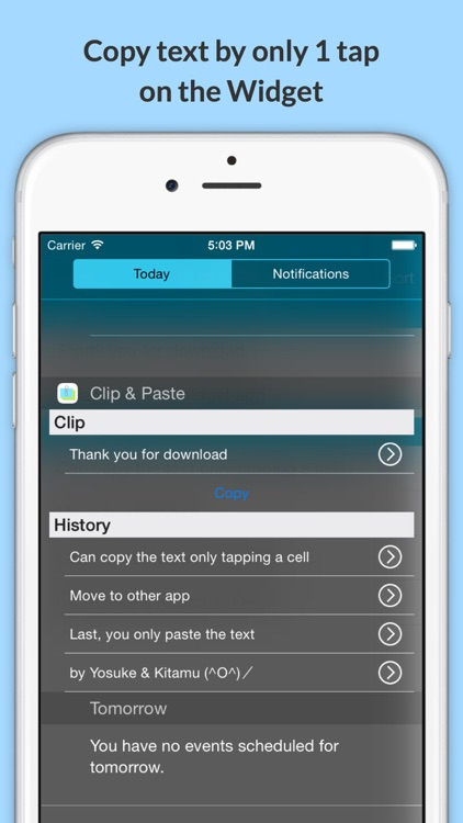 Clip & Paste - Copy and paste easily with widget screenshot-0