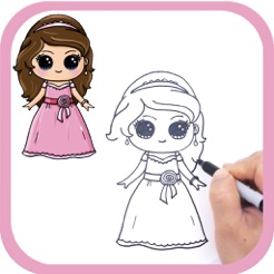 How To Draw Cute Girls Easy For Ipad On The App Store