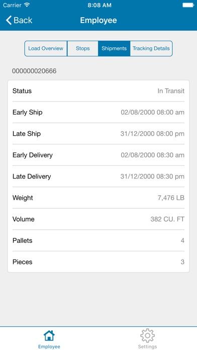 JDA Transportation Mobile User屏幕截圖4