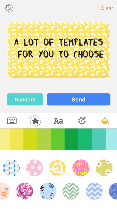 Color Text Messages- customizer colorful texting Screenshot