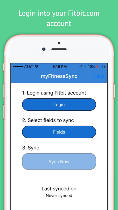 how to get your fitbit to sync