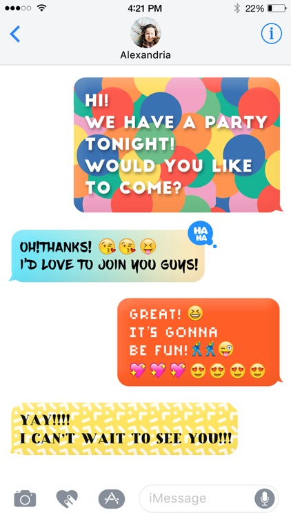 Color Text Messages- customizer colorful texting screenshot-4
