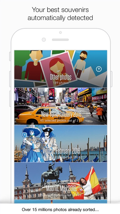 Merry Pixel - Automatically sort your best photos. screenshot one
