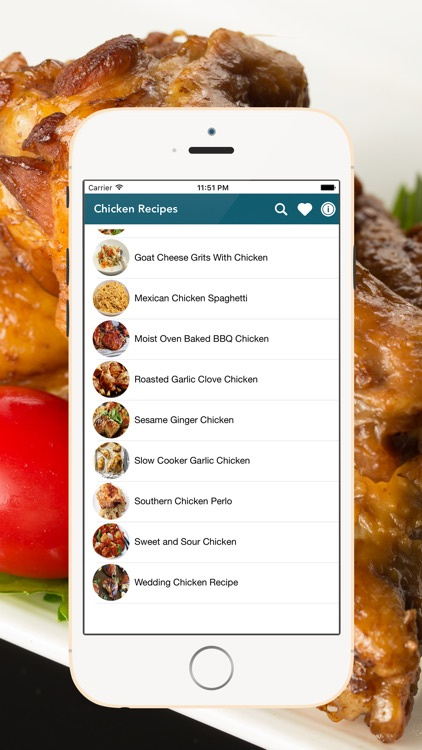 Chicken Recipes - Healthy and Easy screenshot-3
