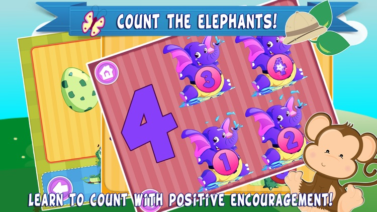 Zoo World Count and Touch- Young Minds Playground for Toddlers and Preschool Kids screenshot-3