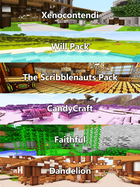 Screenshots of Texture Packs - Pixel Art Collection for Minecraft PE & PC Edition for iPad