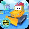 Mika 'Dozer' Spin — bulldozer game for kids - Bogdan Miryuk Cover Art