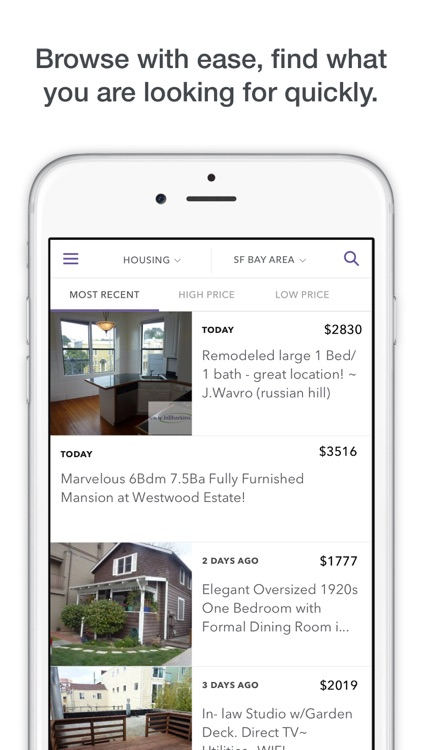 Mokriya Mobile App for Craigslist