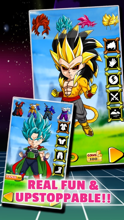 DBZ Goku Super Saiyan Creator - Dragon Ball Z Edition