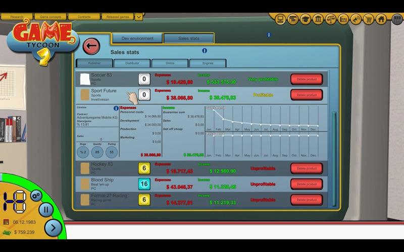 Game Tycoon 2 screenshot 2