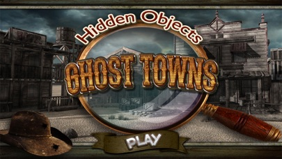 Haunted Ghost Town Hidden Object – Mystery Towns Pic Spot Differences Objects Game screenshot one