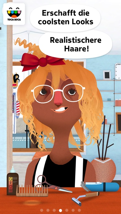 Screenshot for Toca Hair Salon 2 in Germany App Store