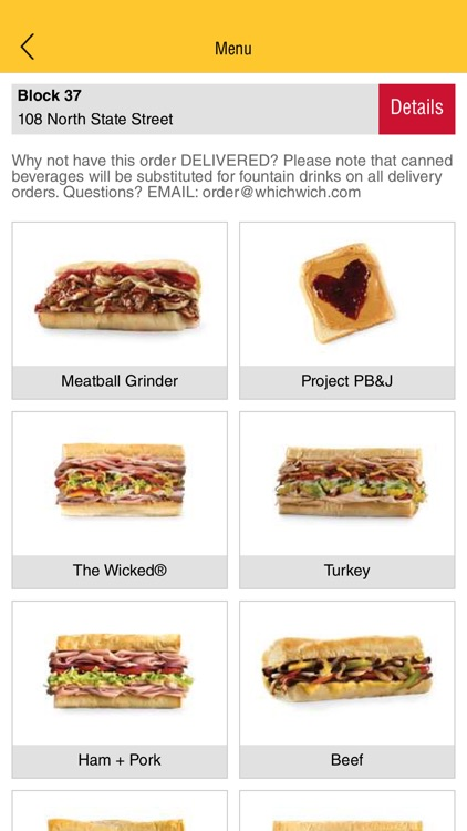 Which Wich Ordering