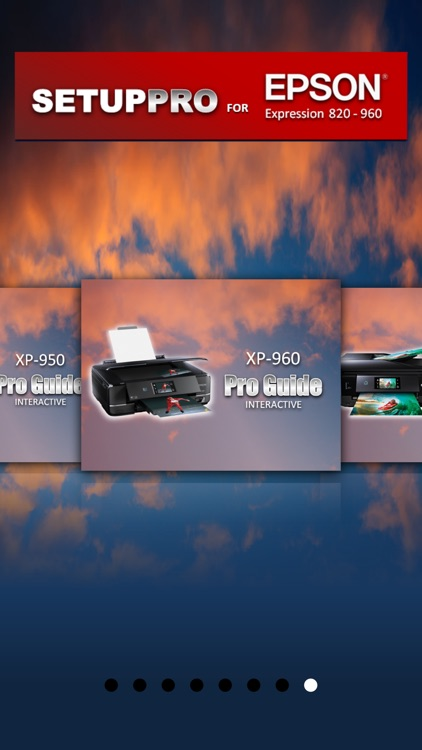 Setup Pro for Epson Expression 820, 830, 850, 860, 950 & 960 Series screenshot-4