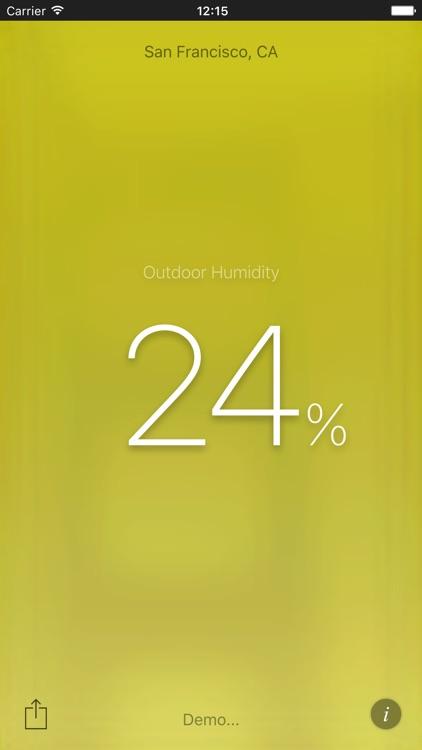 Humidity App