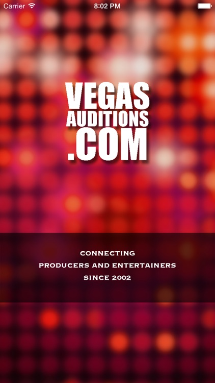 Vegas Auditions - Las Vegas entertainment jobs & casting notices screenshot-0