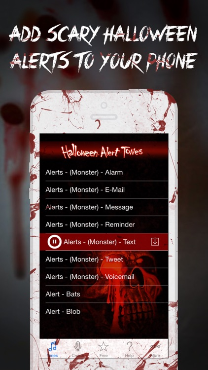 Halloween Alert Tones - Scary new sounds for your iPhone