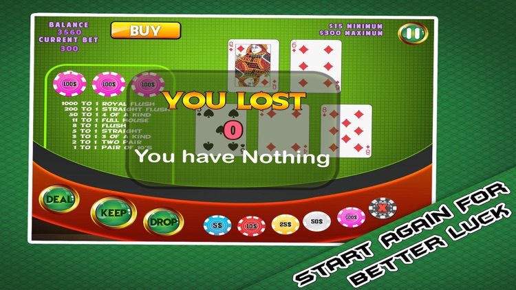 Classic Cards - Free Poker Casino screenshot-4