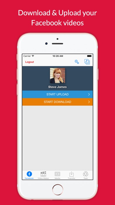 Video Grabby Free - Video Save & Video Editor Screenshot on iOS