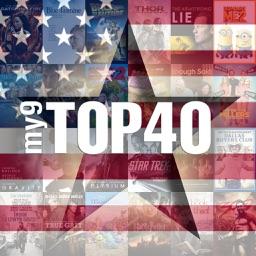 my9 Top 40 : US movie charts